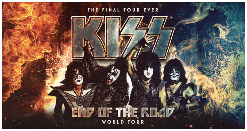 kiss, end of the road, tour