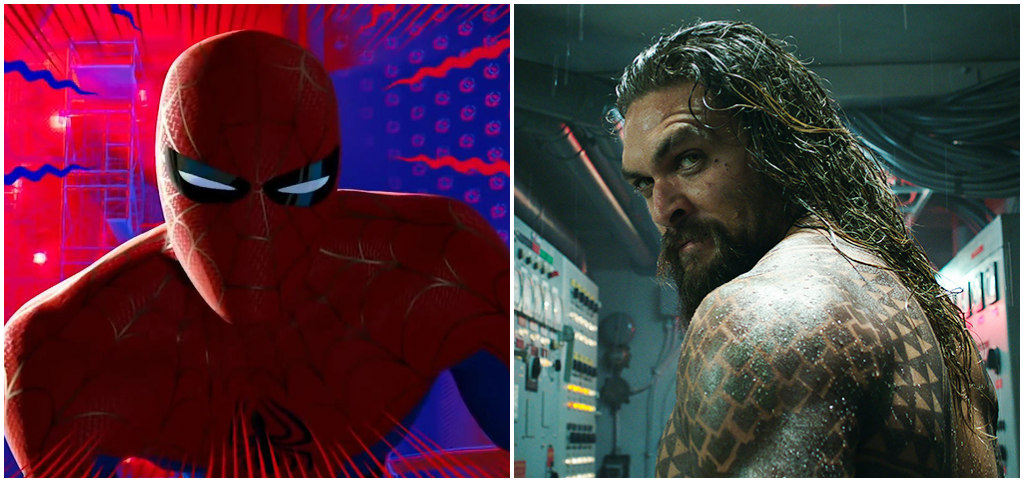 Spider-Man: Into The Spider-Verse, aquaman
