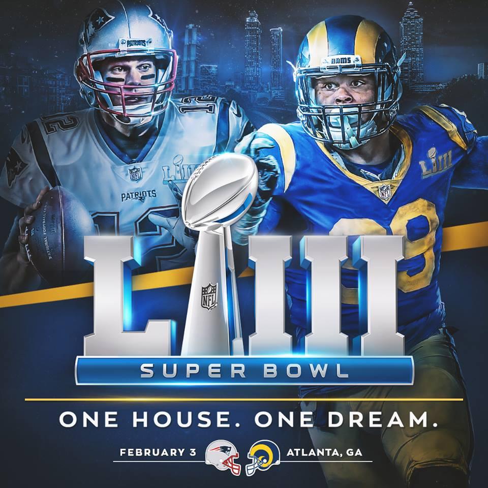 a8b65c3d Los Angeles Rams & New England Patriots Head To Super Bowl LIII ...