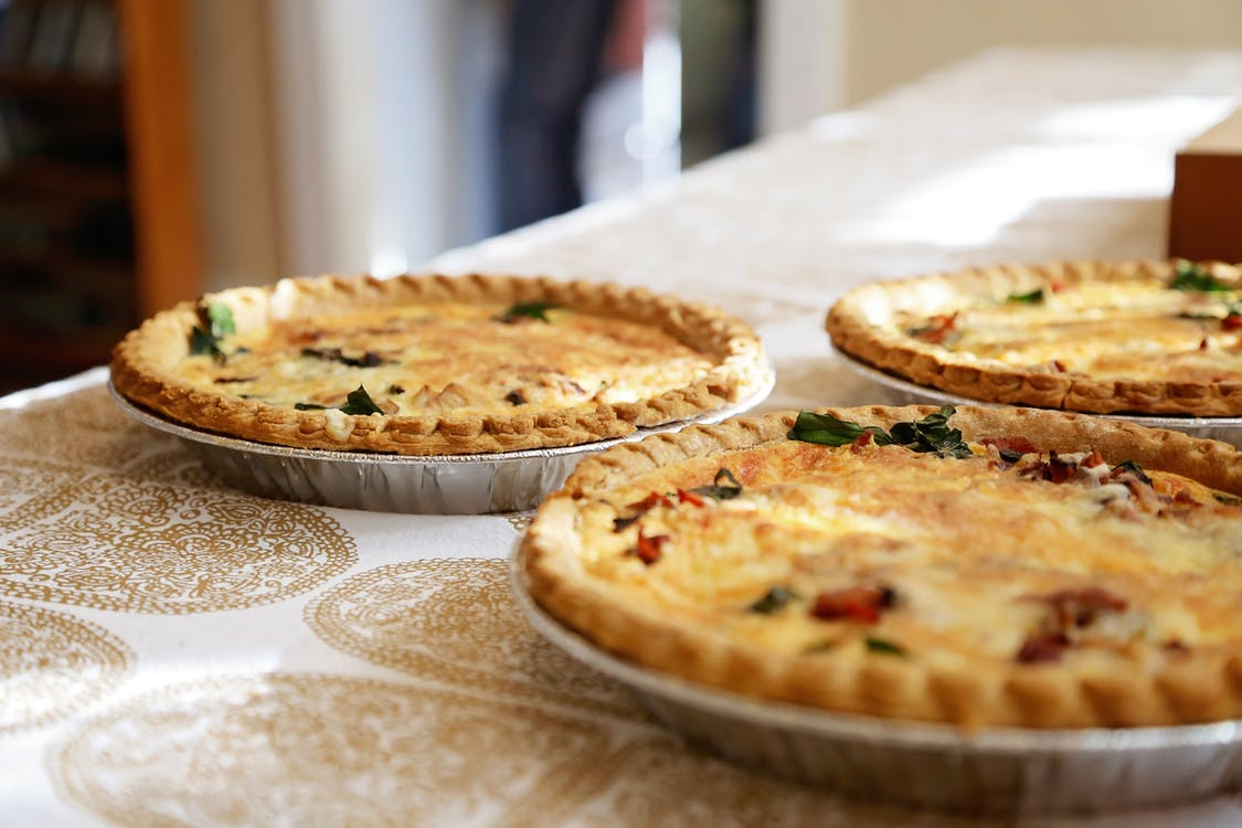 spinach quiche recipe, dannon