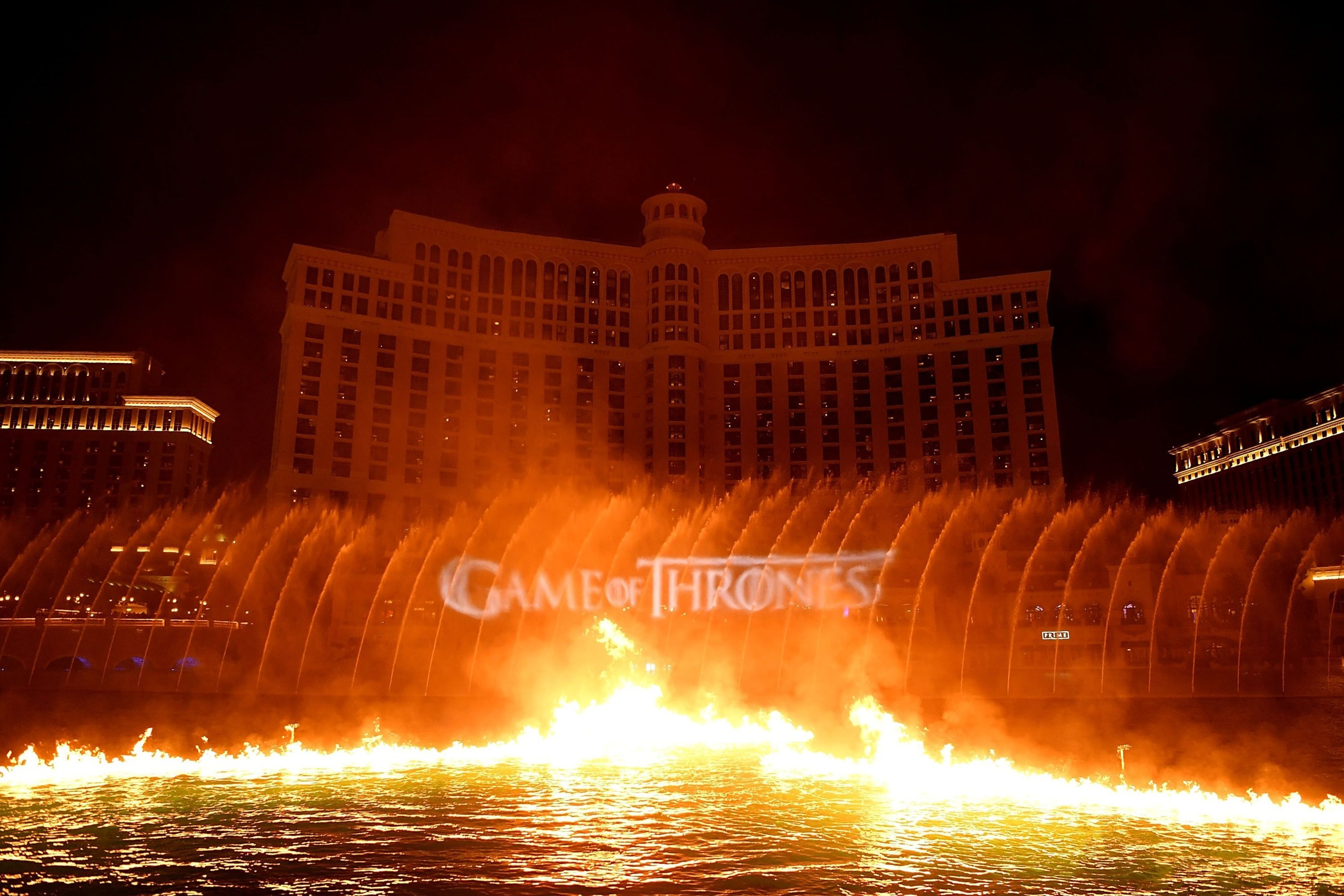 game of thrones, bellagio