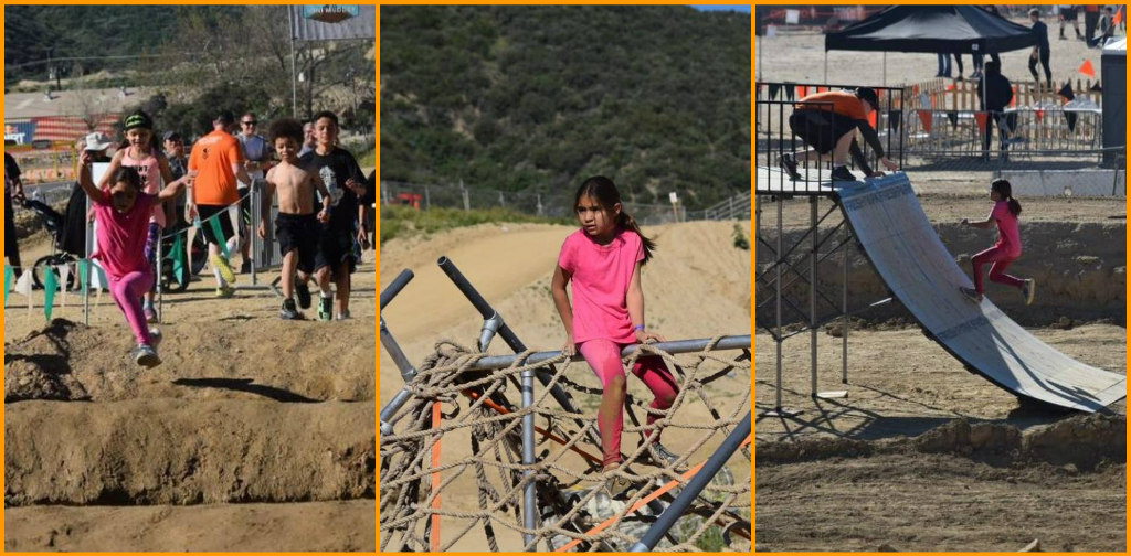 Abigail Ninja Warrior, Mini Mudder, Tough Mudder