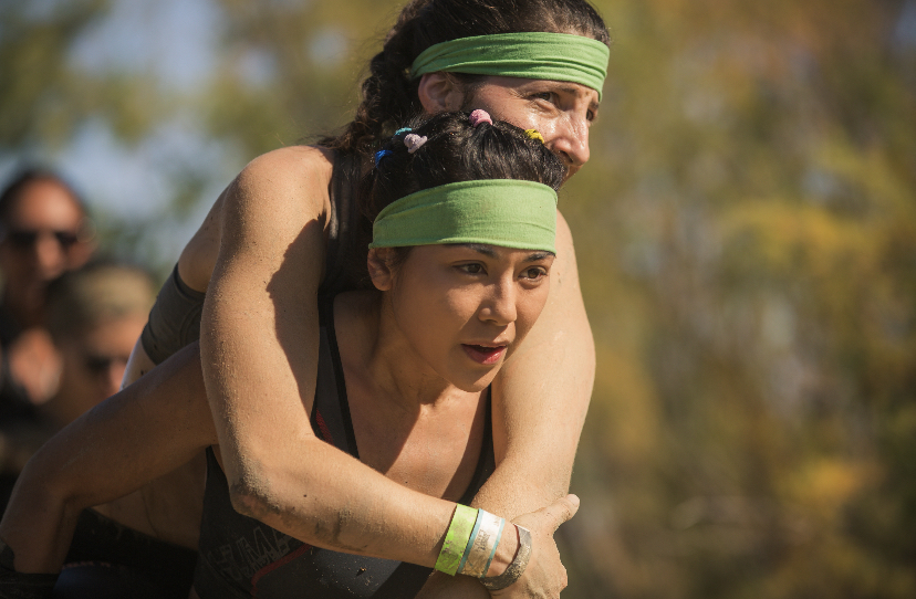 pamela price, tough mudder, hero carry, Roni weissman