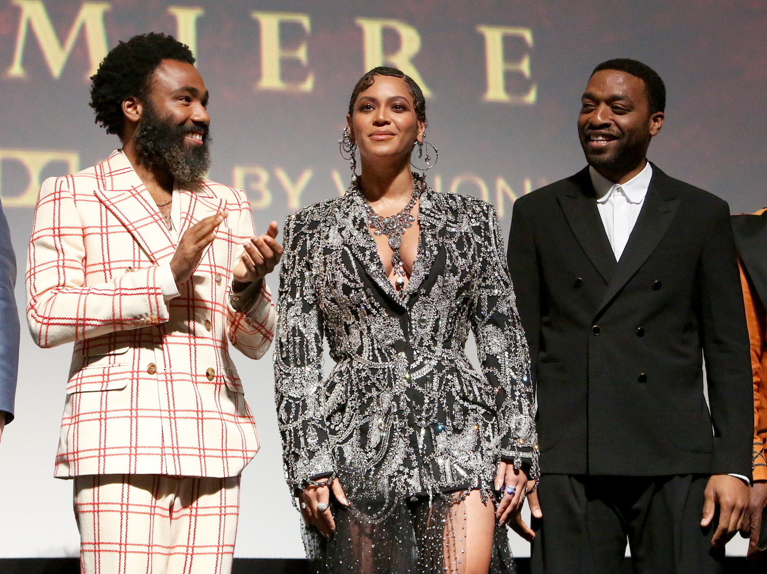 beyonce, the lion king premiere