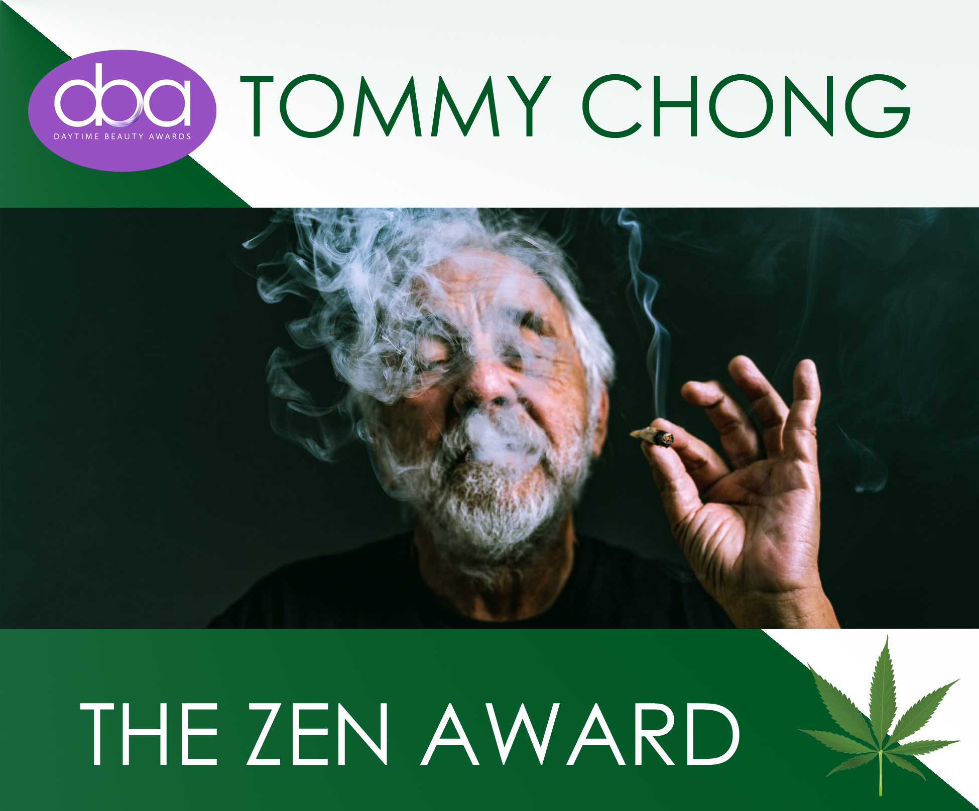 tommy chong, daytime beauty awards