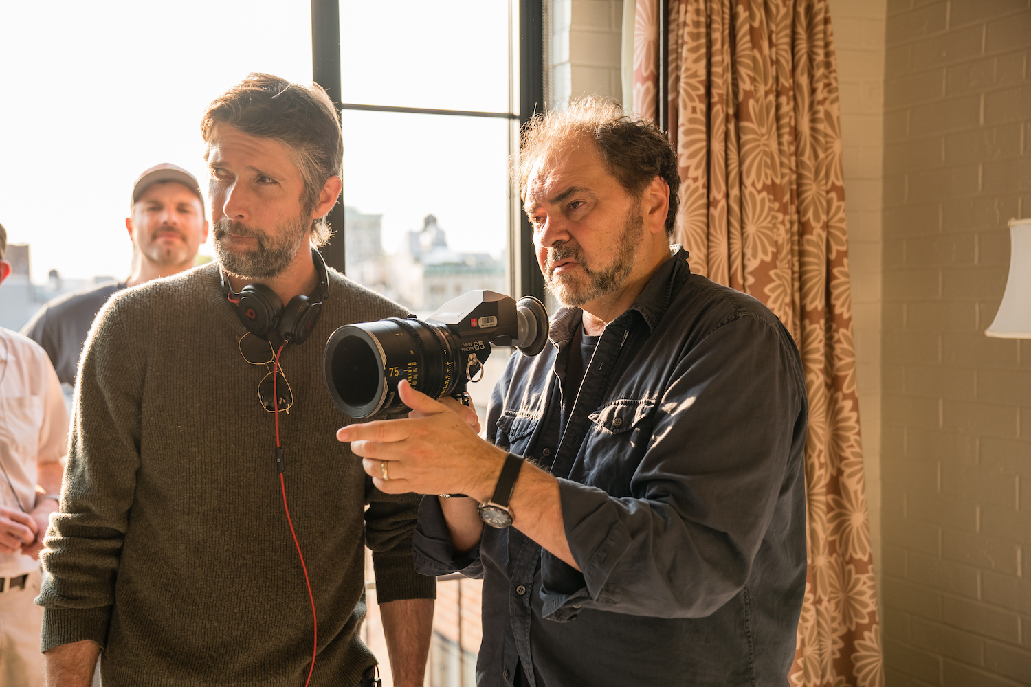 Bart and cinematographer Julio Macat