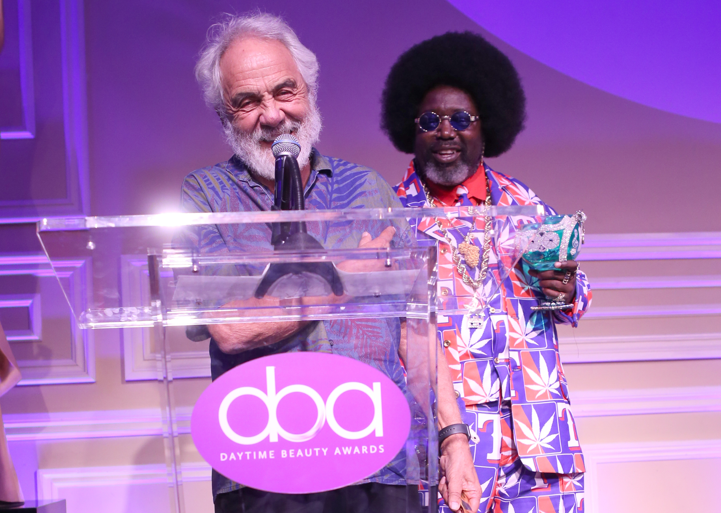 tommy chong, afroman, daytime beauty awards
