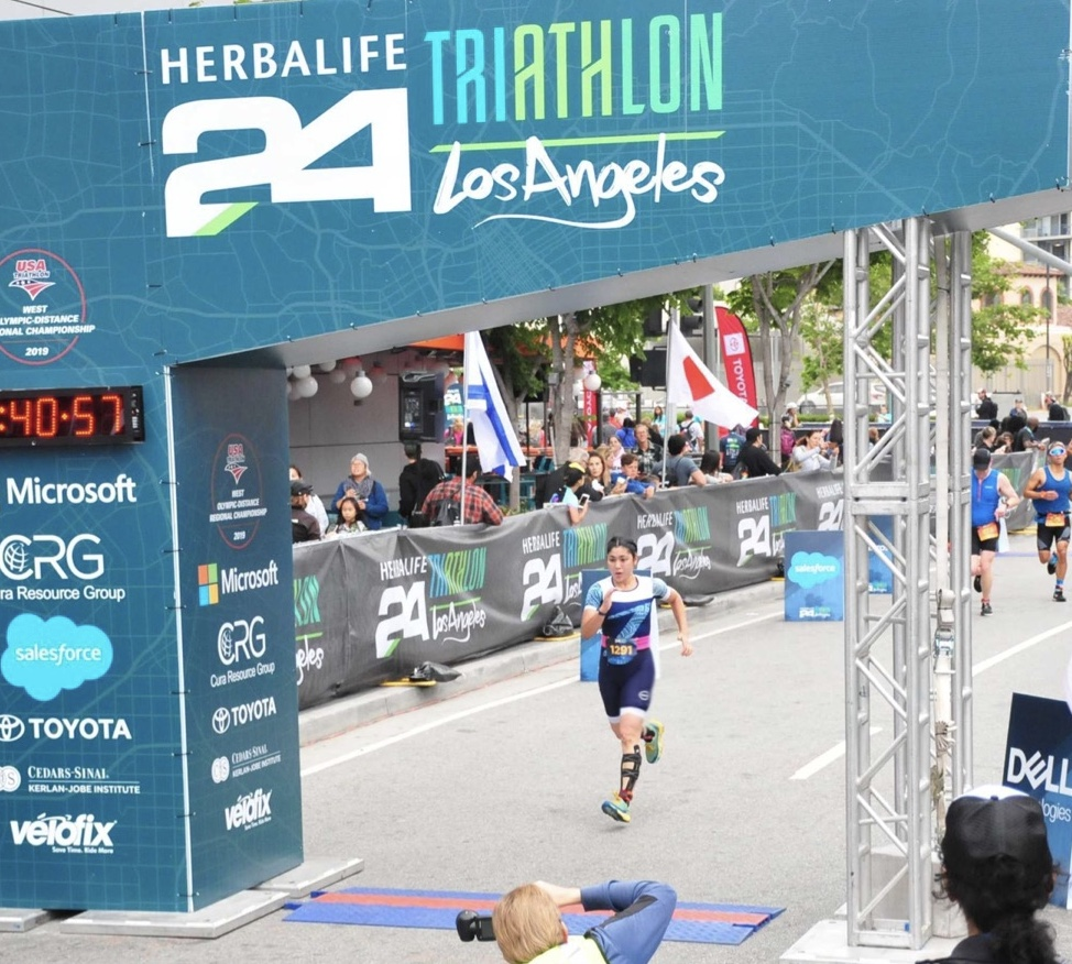 herbalife triathlon los angeles, pamela price