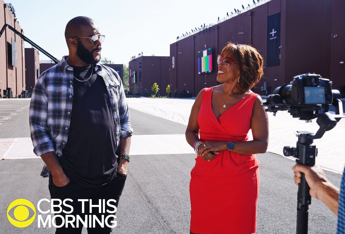 tyler perry, gayle king, cbs