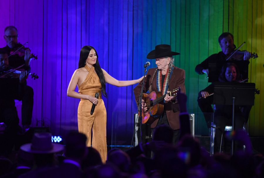 (ABC/Image Group LA) KASEY MUSGRAVES, WILLIE NELSON (ABC/Image Group LA) KASEY MUSGRAVES, WILLIE NELSON