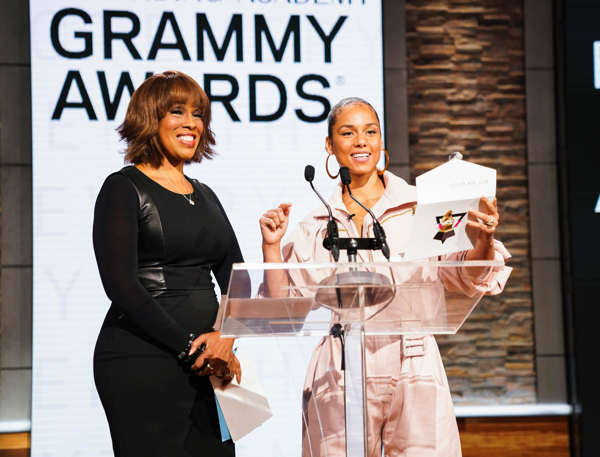 grammy nominees, alicia keys, gayle king