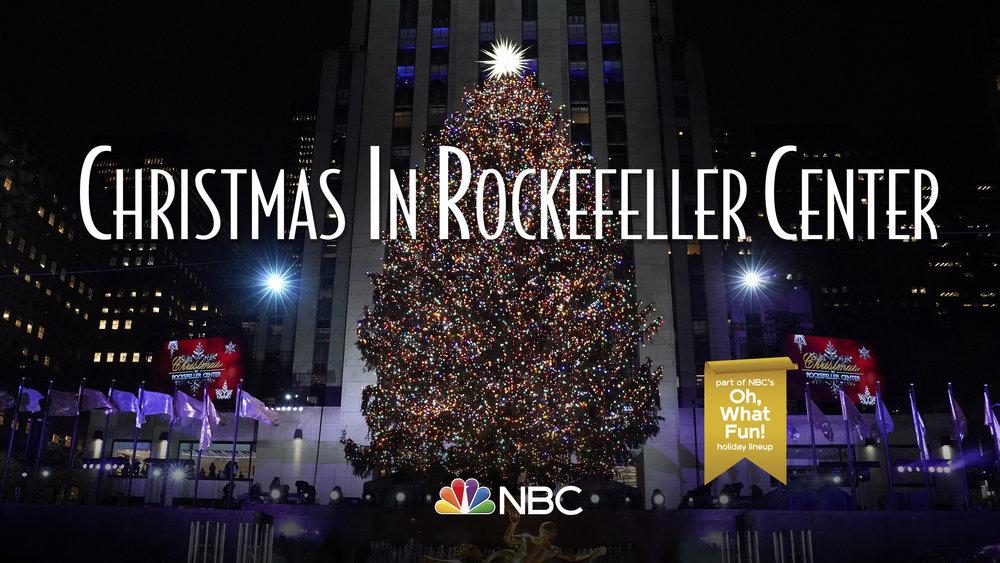 "Watch NBC's ""Christmas in Rockefeller Center"" Lighting | LATF USA"