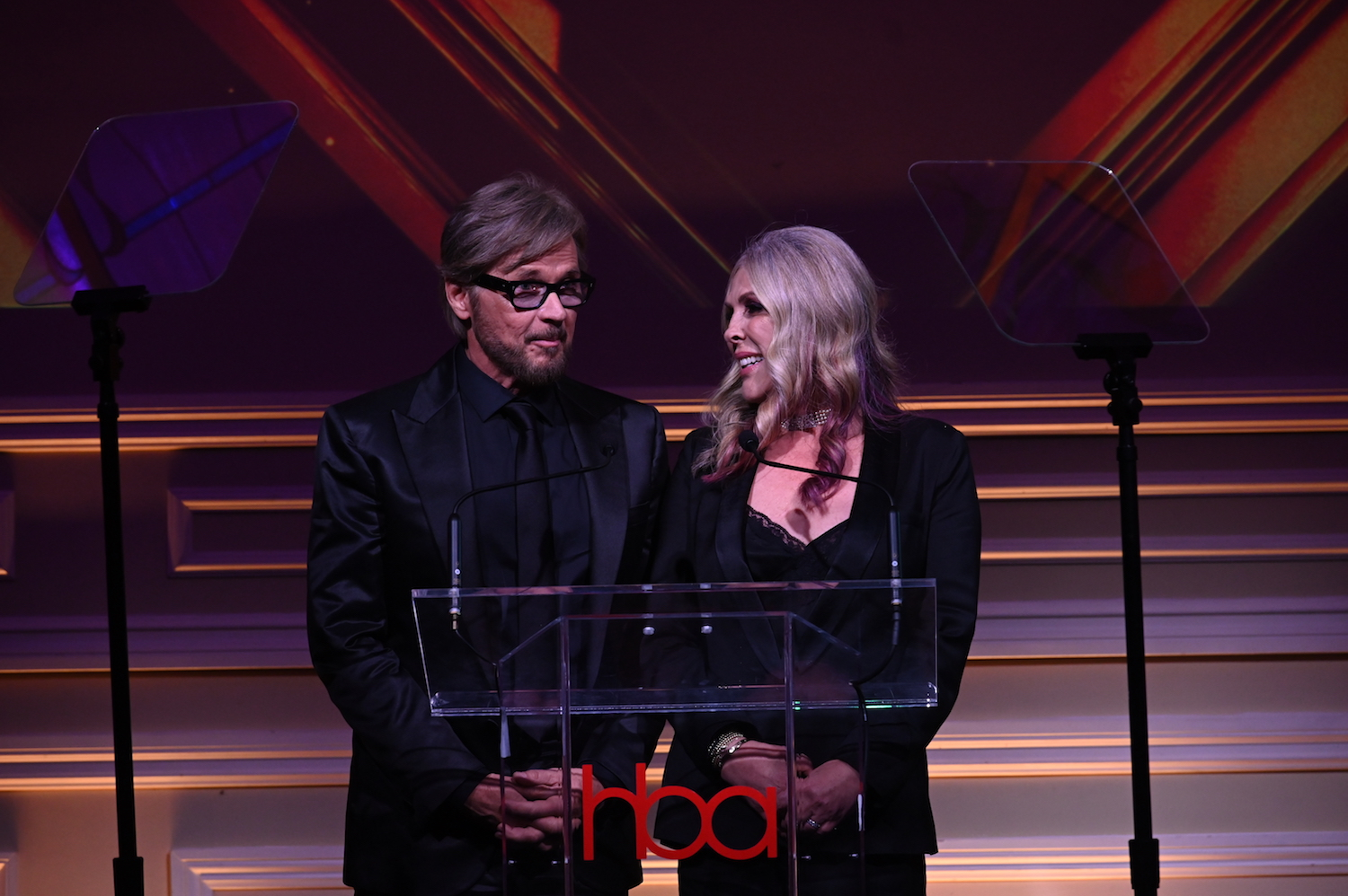 stephen nichols, lisa stanley, hollywood beauty awards