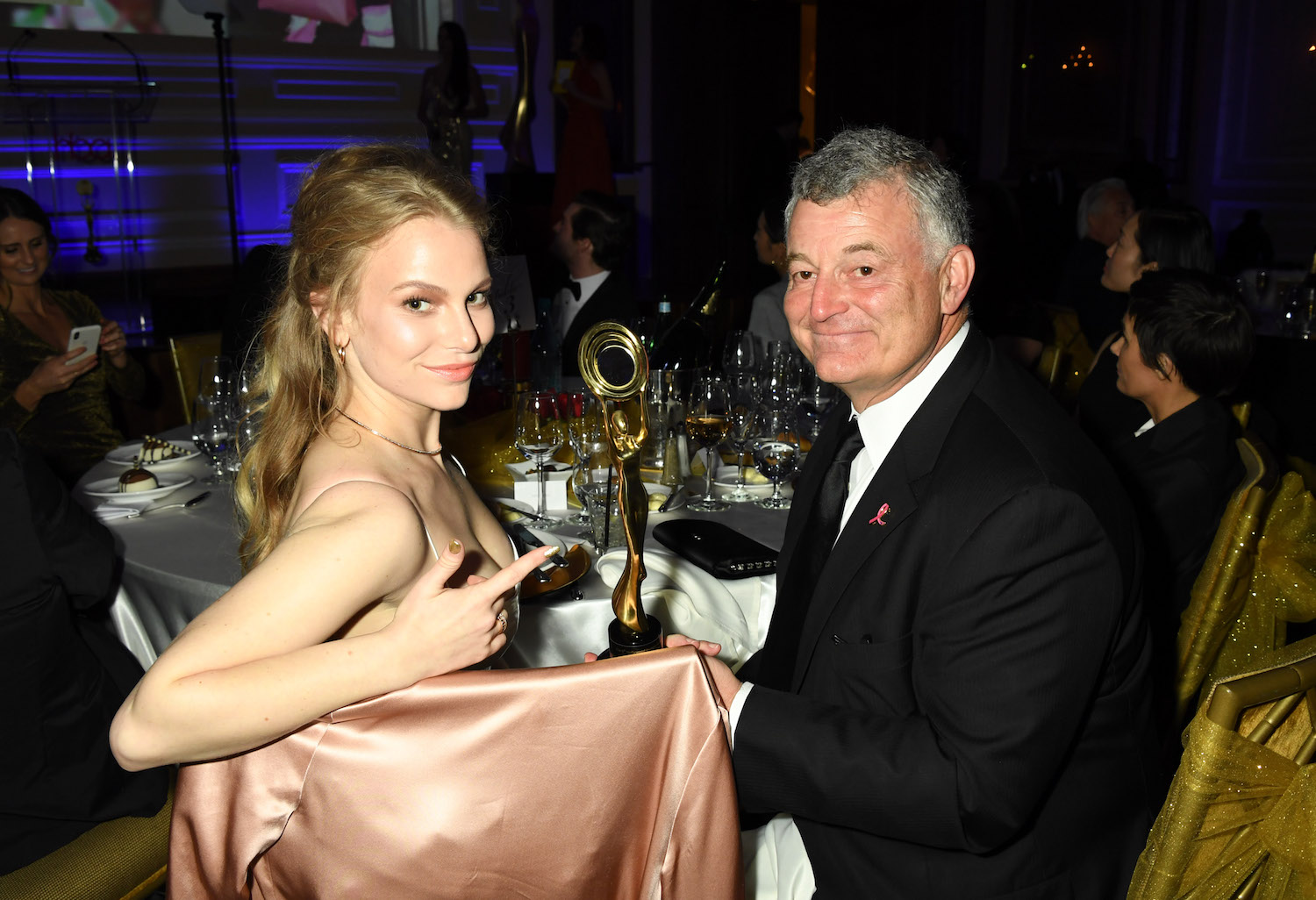 Danielle Lauder, William P. Lauder, hollywood beauty awards