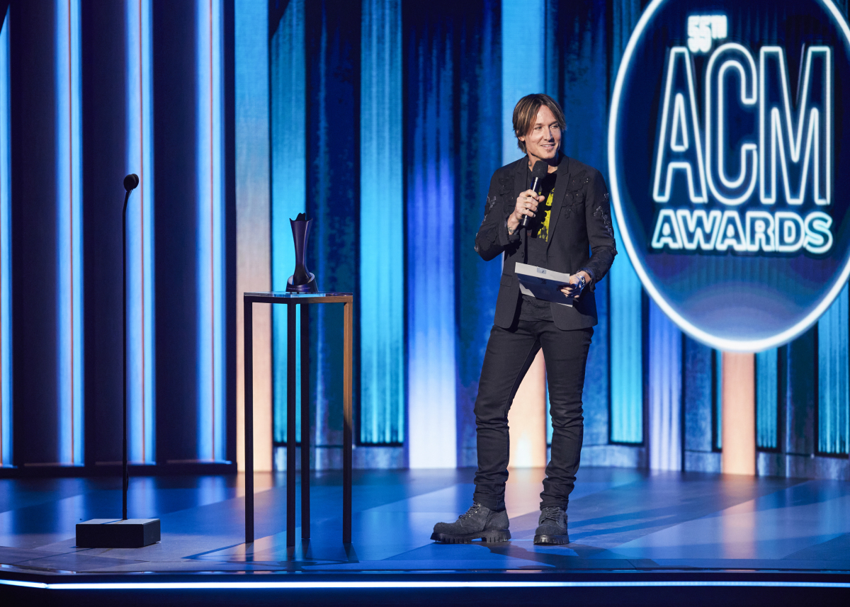 keith urban, acm, 2020, academy of country music awards