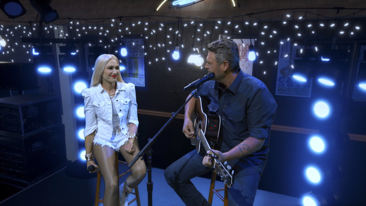 blake shelton, gwen stefani, acm, 2020, academy of country music awards