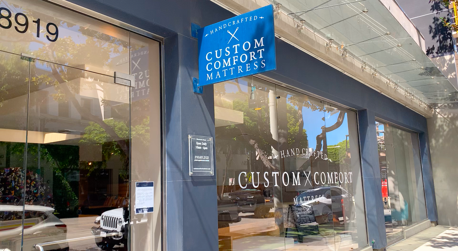 custom comfort mattress, West Hollywood, los angeles